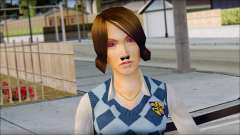 Pinky from Bully Scholarship Edition para GTA San Andreas