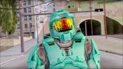 Masterchief Blue-Green from Halo para GTA San Andreas