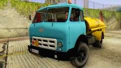 MAZ 500A Bowser para GTA San Andreas