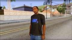 DG Negra T-Shirt para GTA San Andreas