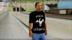 A7X Waking The Fallen Fan T-Shirt para GTA San Andreas