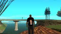 Camiseta De Paul Walker para GTA San Andreas