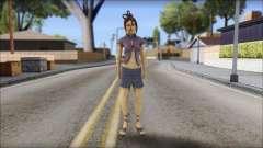Girl on heels para GTA San Andreas