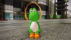 Yoshi from Super Mario para GTA San Andreas