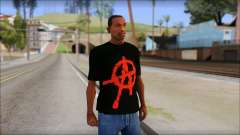 Anarchy T-Shirt Mod v2 para GTA San Andreas