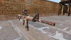 Automático carabina MA Bosque de Camuflaje para GTA 4