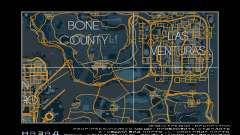 Mapa de carreras de estilo Traza el Mapa para GTA San Andreas