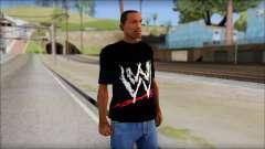 WWE Logo T-Shirt mod v2 para GTA San Andreas