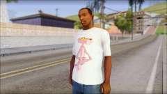 Pink Panther T-Shirt Mod para GTA San Andreas