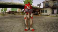 Zoroark from Pokemon para GTA San Andreas