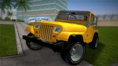 Jeep Wrangler 1986 v4.0 Fury para GTA Vice City