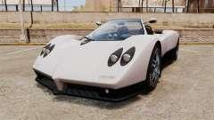 Pagani Zonda C12S Roadster 2001 v1.1 PJ2 para GTA 4
