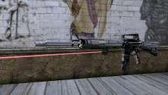 M4A1 con mira láser