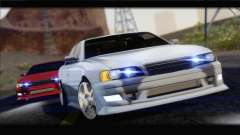 Toyota Chaser Tourer Stock v1 1999 para GTA San Andreas