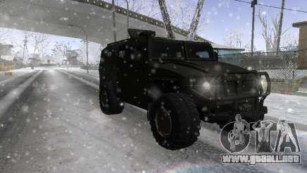 GAS 2975 Tigre para GTA San Andreas
