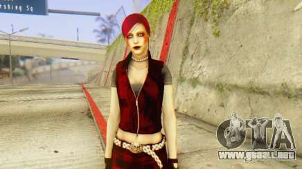 Red Girl Skin para GTA San Andreas