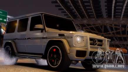 Mercedes-Benz G65 AMG v1.1 para GTA 4
