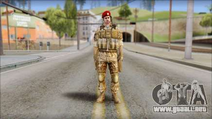 Desert Vlad GRU from Soldier Front 2 para GTA San Andreas