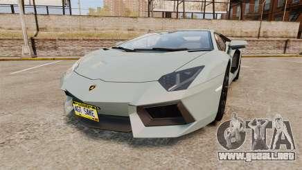 Lamborghini Aventador LP700-4 v2 [RIV] para GTA 4