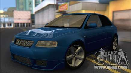 Audi A3 1999 para GTA San Andreas