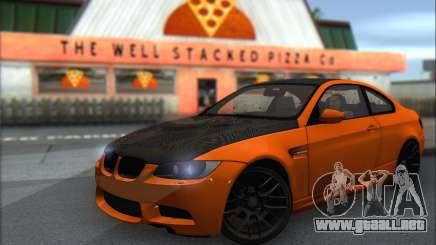 BMW M3 E92 Soft Tuning para GTA San Andreas