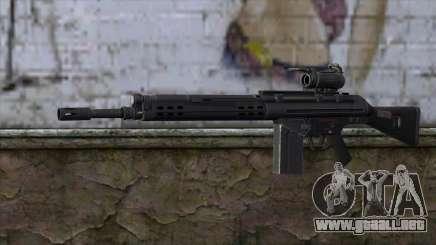 HK A4 SOG from Medal Of Honor: Warfighter para GTA San Andreas