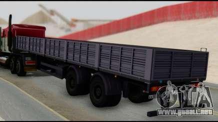 Semirremolque MAZ 93866 para GTA San Andreas