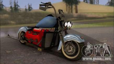 Boss Hoss v8 8200cc para GTA San Andreas