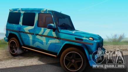 Mercedes-Benz G65 Blue Star para GTA San Andreas