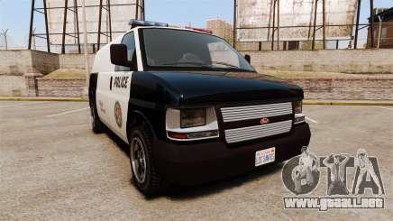 Vapid Speedo Los Santos Police [ELS] para GTA 4