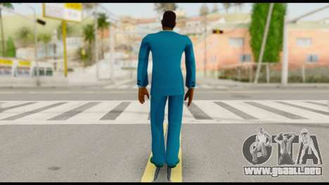 Lance Suit para GTA San Andreas segunda pantalla