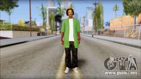 Snoop Dogg Mod para GTA San Andreas