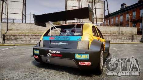 Zenden Cup Snap-On para GTA 4 Vista posterior izquierda