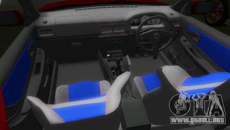 Subaru Impreza WRX STI GC8 22B para GTA Vice City vista posterior