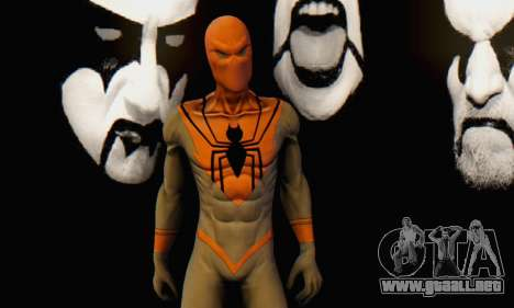 Skin The Amazing Spider Man 2 - Suit Assasin para GTA San Andreas sexta pantalla