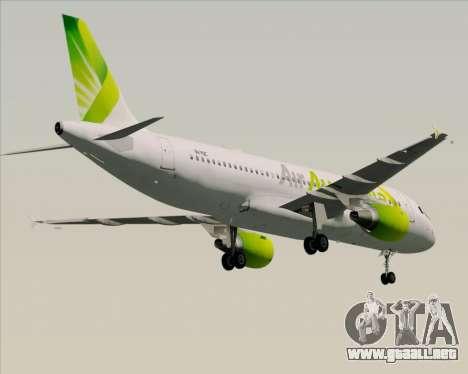 Airbus A320-200 Air Australia para el motor de GTA San Andreas