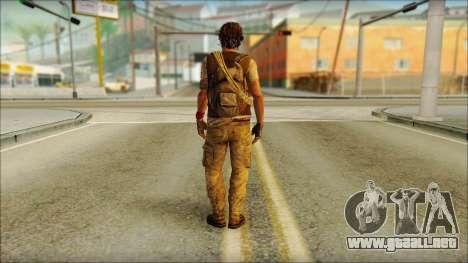 Adam (Estoy Vivo) para GTA San Andreas segunda pantalla
