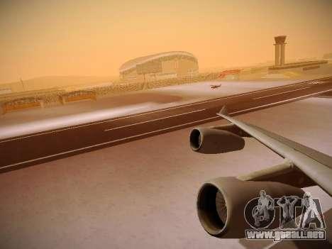 Airbus A340-300 Cathay Pacific para el motor de GTA San Andreas