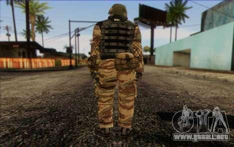 Soldados de MEK (Battlefield 2) la Piel de 1 para GTA San Andreas segunda pantalla