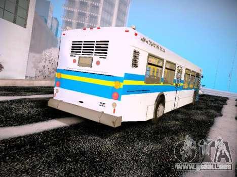 NewFlyer D40LF TransLink Vancouver BC para la visión correcta GTA San Andreas