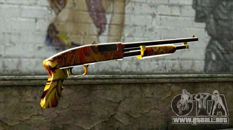 Dash Shotgun para GTA San Andreas segunda pantalla
