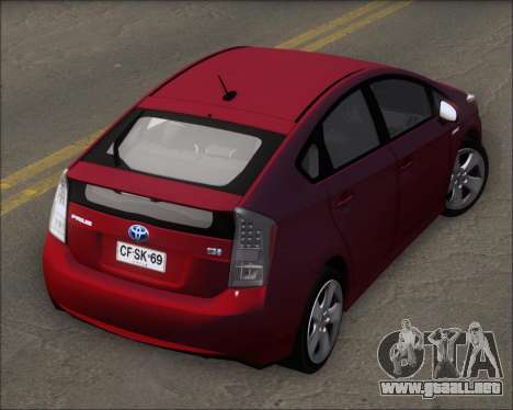 Toyota Prius para visión interna GTA San Andreas