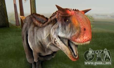 Carnotaurus para GTA San Andreas