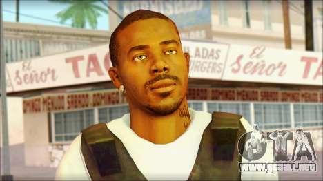 New Grove Street Family Skin v5 para GTA San Andreas tercera pantalla