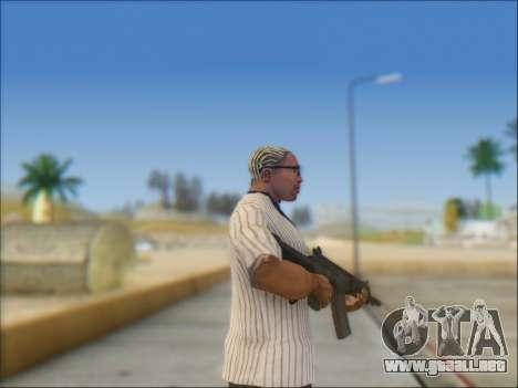 Israel carabina ACE 21 para GTA San Andreas quinta pantalla