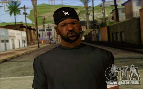 N.W.A Skin 4 para GTA San Andreas tercera pantalla