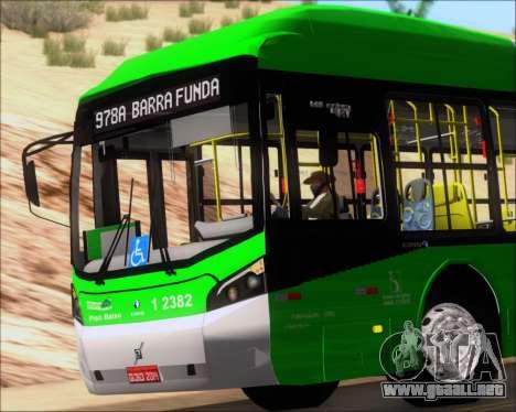Caio Induscar Millennium BRT Viacao Gato Preto para la vista superior GTA San Andreas