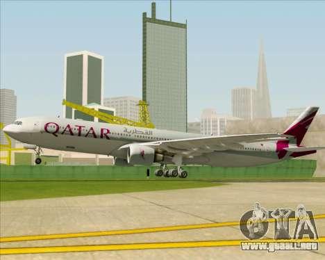 Airbus A330-300 Qatar Airways para el motor de GTA San Andreas