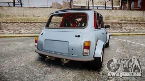 Mini Miglia [Updated] para GTA 4 Vista posterior izquierda