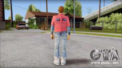 Marty with No Hat 2015 para GTA San Andreas segunda pantalla